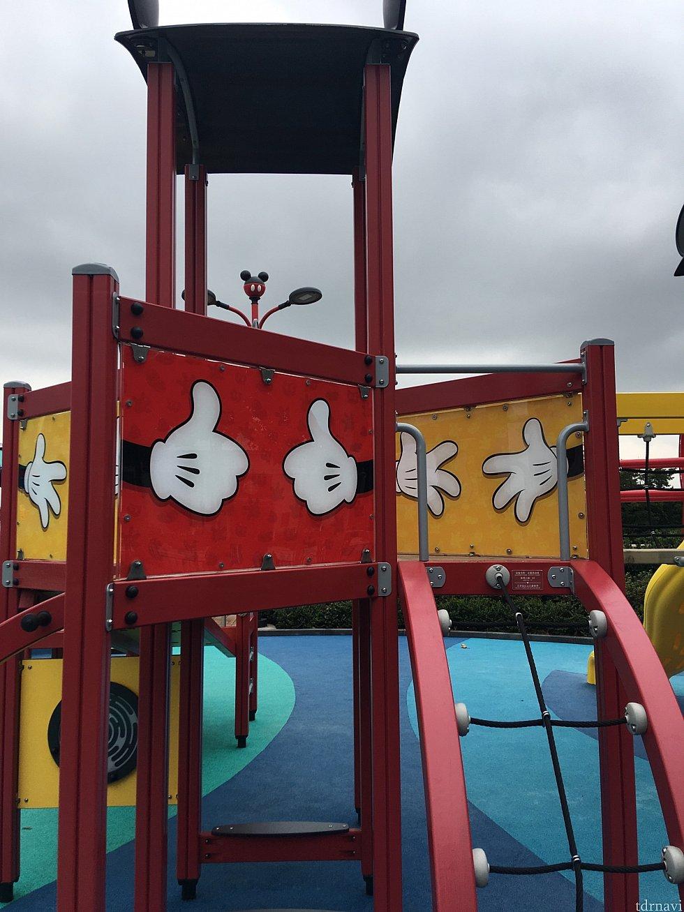 ディズニータウンの公園も子供なら楽しんでました。