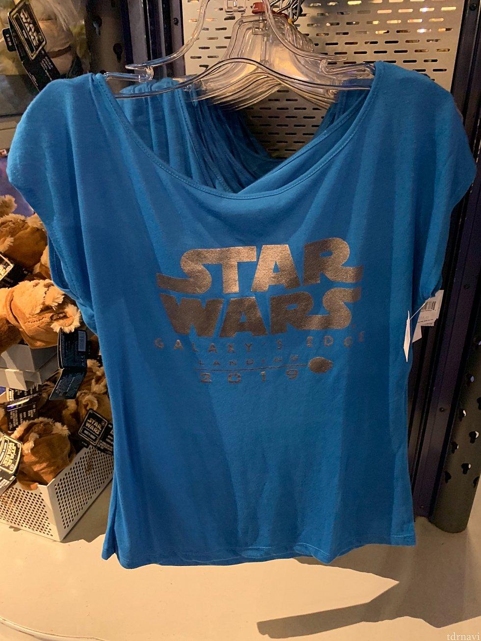 レディースTシャツ。35ドル