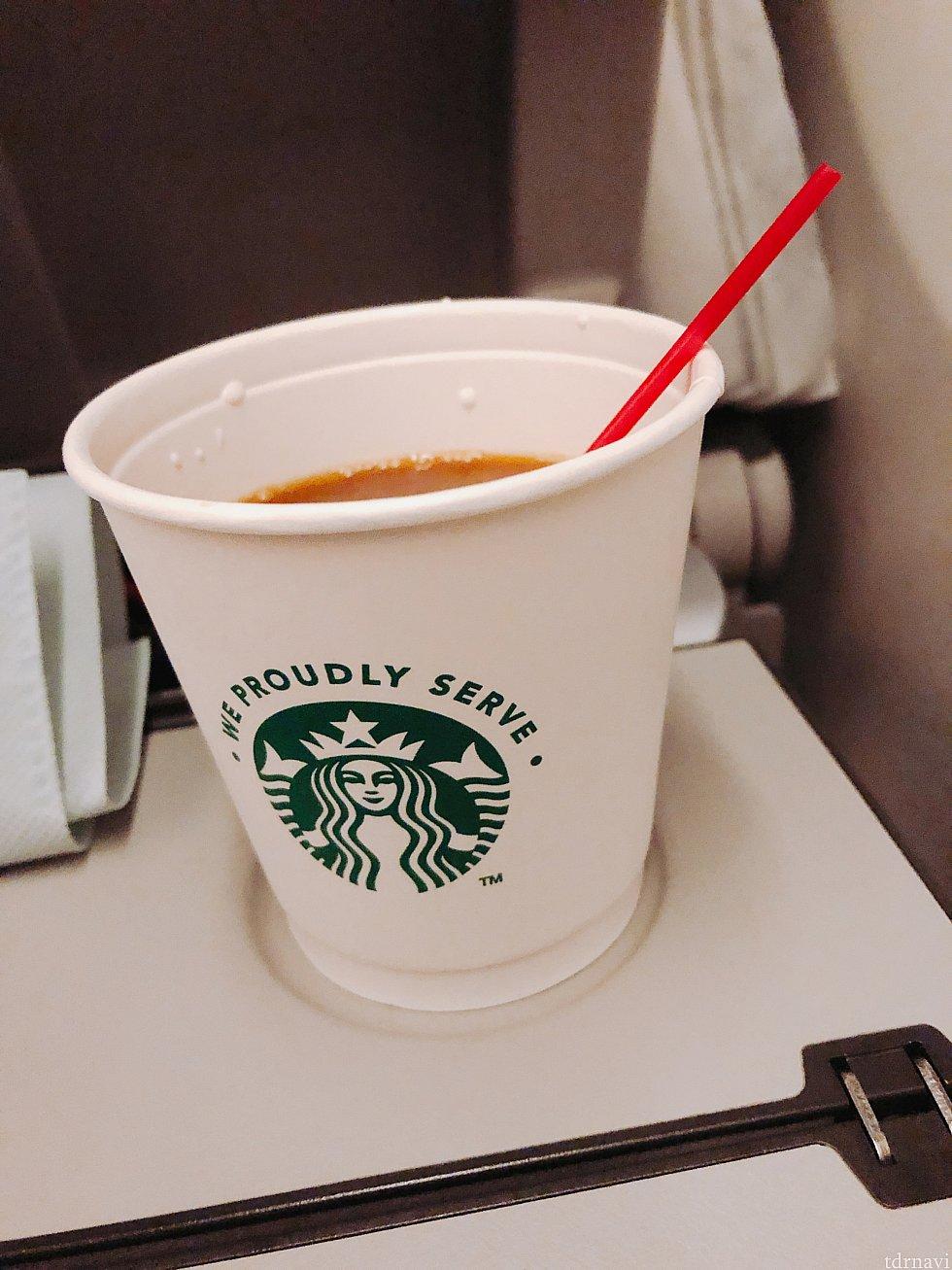 デルタといえばスタバのコーヒー♪