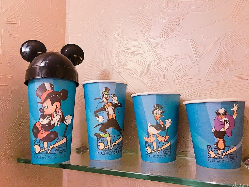 アメニティのカップ達