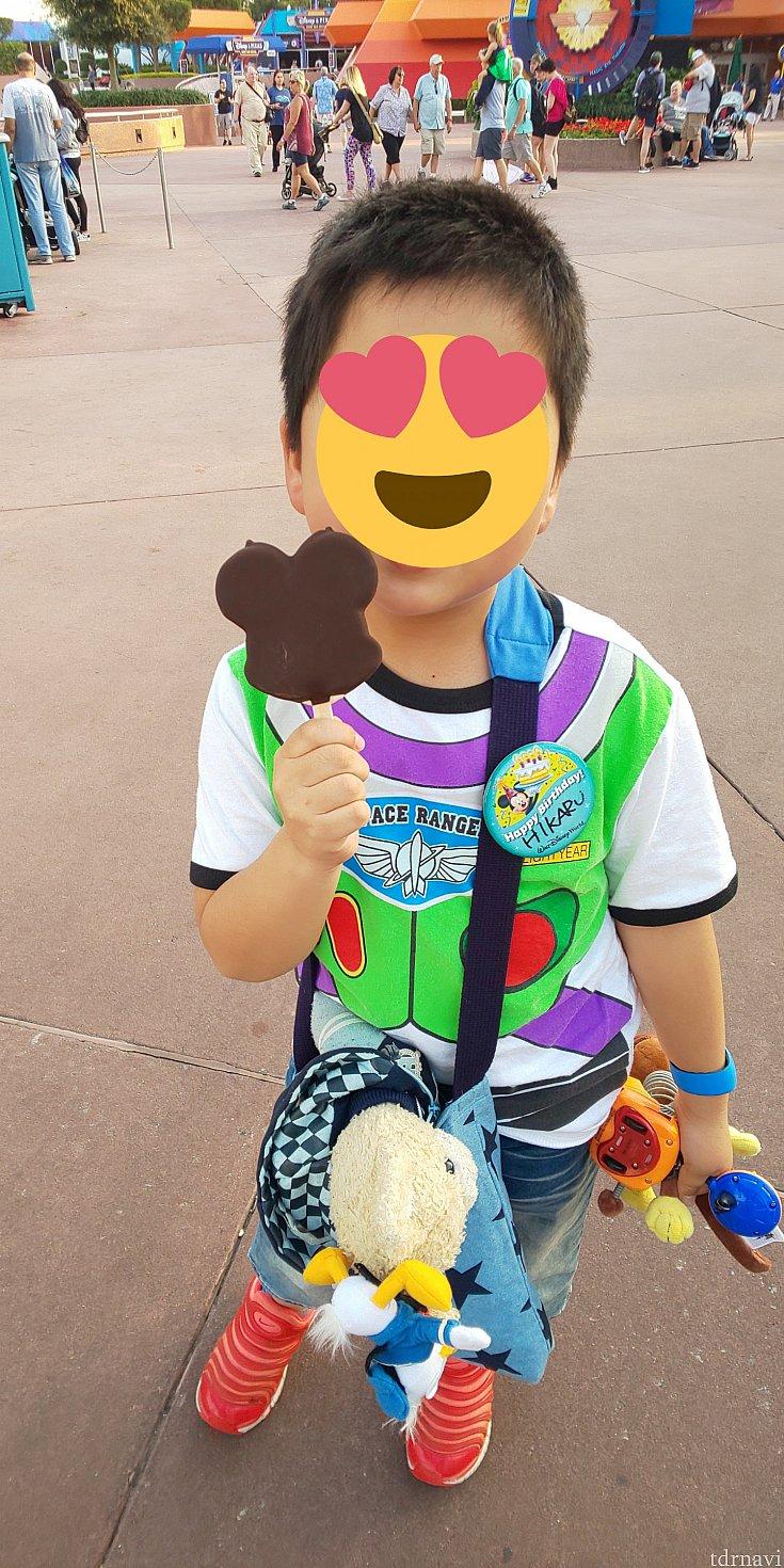 アイスを貰えたことより、息子への気遣いが嬉しかったです。