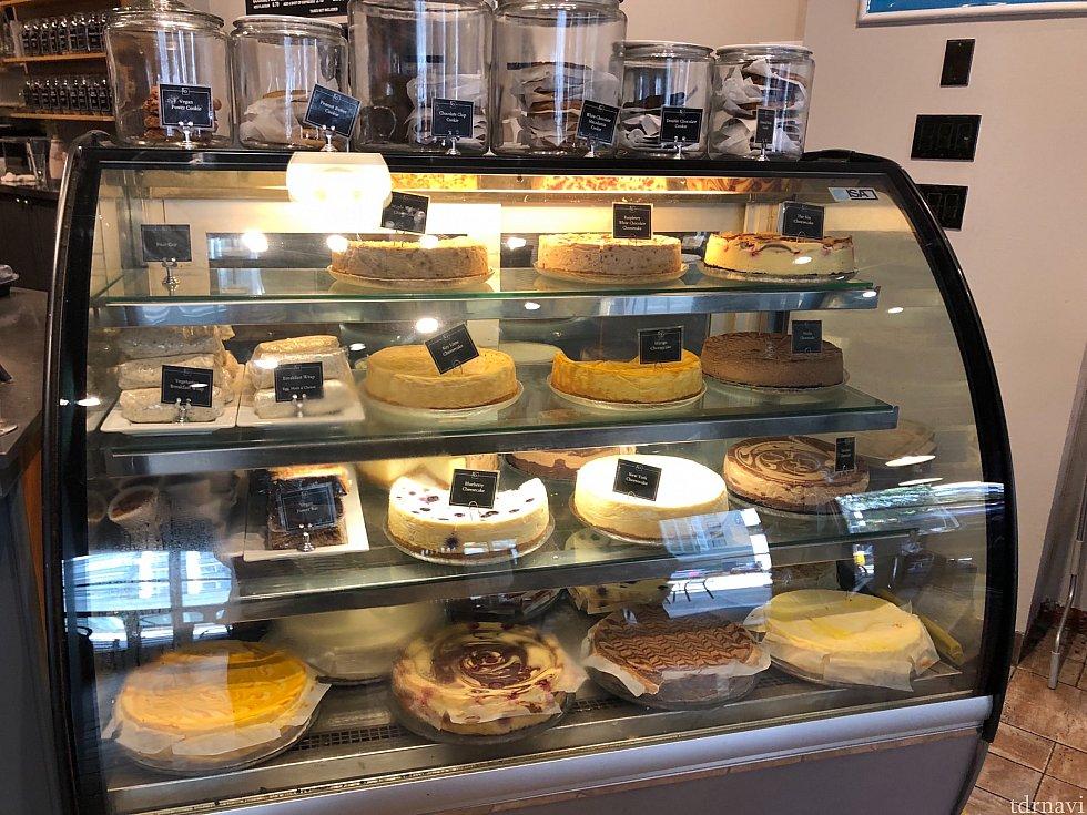 チーズケーキはこんな感じ