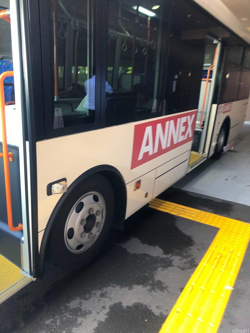ANEX専用バスです