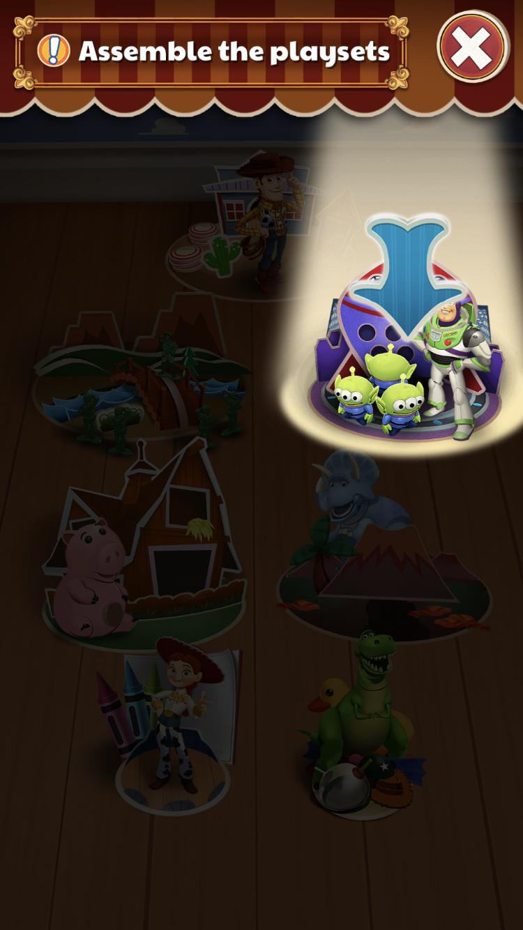 トイマニはキャラごとにゲームがたくさん!