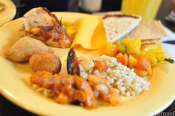アニマルキングダムならではの珍しい料理も!