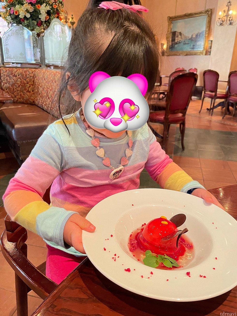食いしん坊娘のとっても嬉しそうな姿が印象的<br> そんな娘の顔をみてまたひとつ幸せを感じました<br> またみんなで絶対来ようね✨