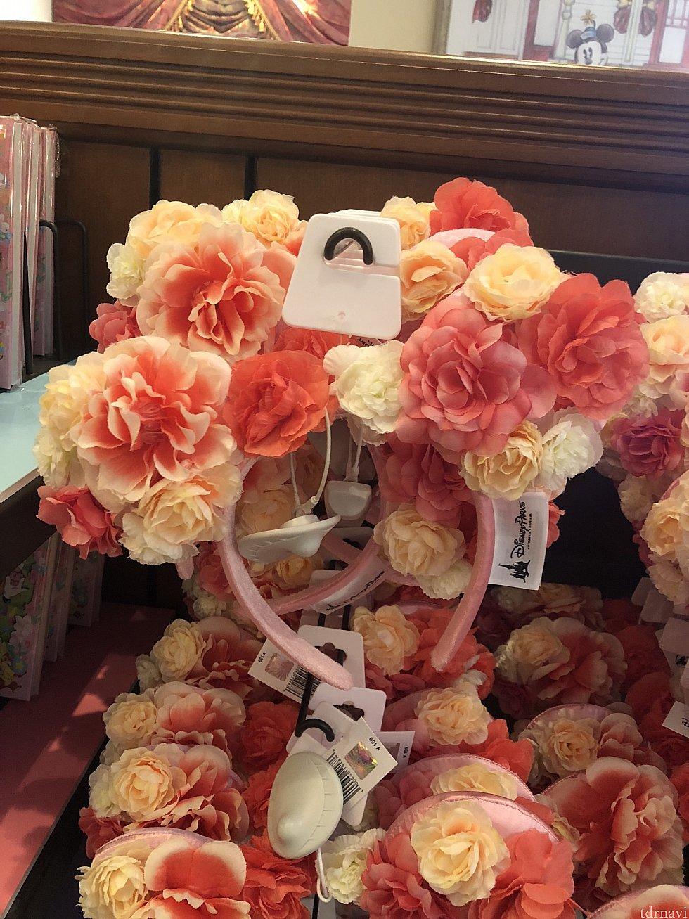 春らしいお花カチューシャ♡159元