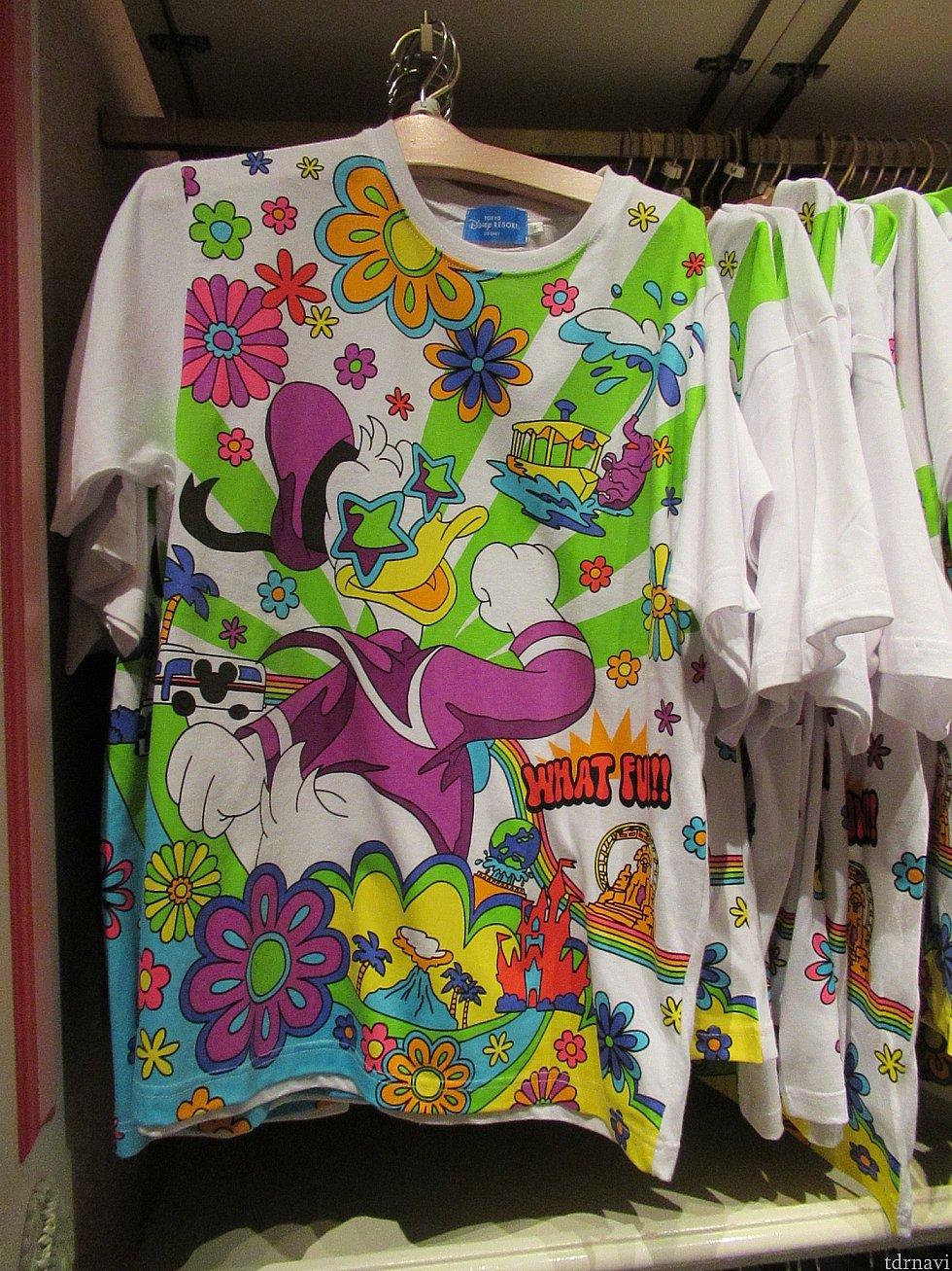 ドナルドTシャツ 2300円