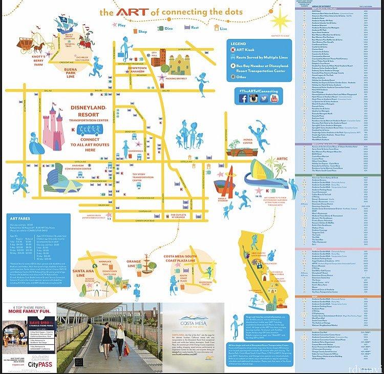 停車場所のリストとMAP。公式ページから確認できます。