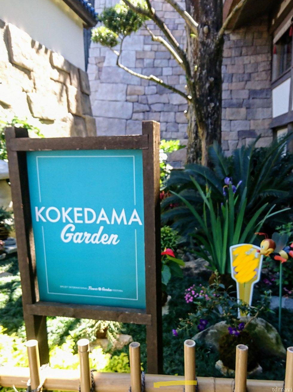 苔玉ガーデン。 ここも分かりやすかったです。