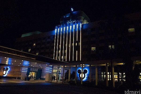 ディズニー・ハリウッド・ホテル。