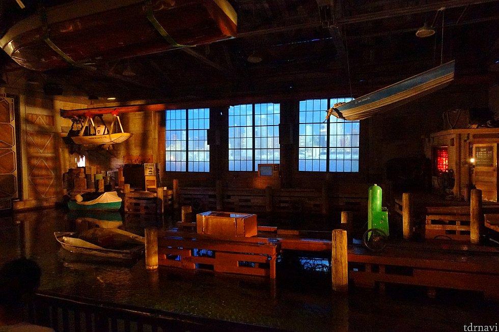 そして、ここがメインショーとなるニューヨークのボートハウス。