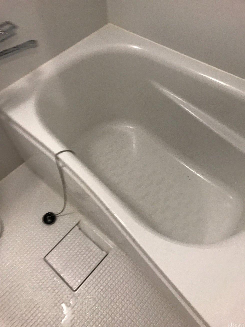 バスタブと洗い場が別々なのは良いですよね❣️