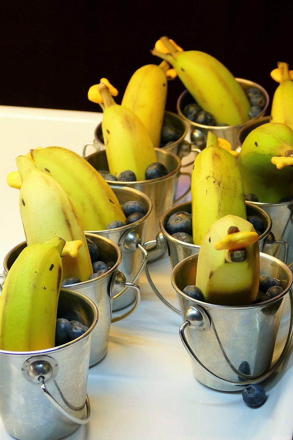 そして今回一番かわいかったのが、こちらのイルカちゃん!ではなく、バナナ(笑)
