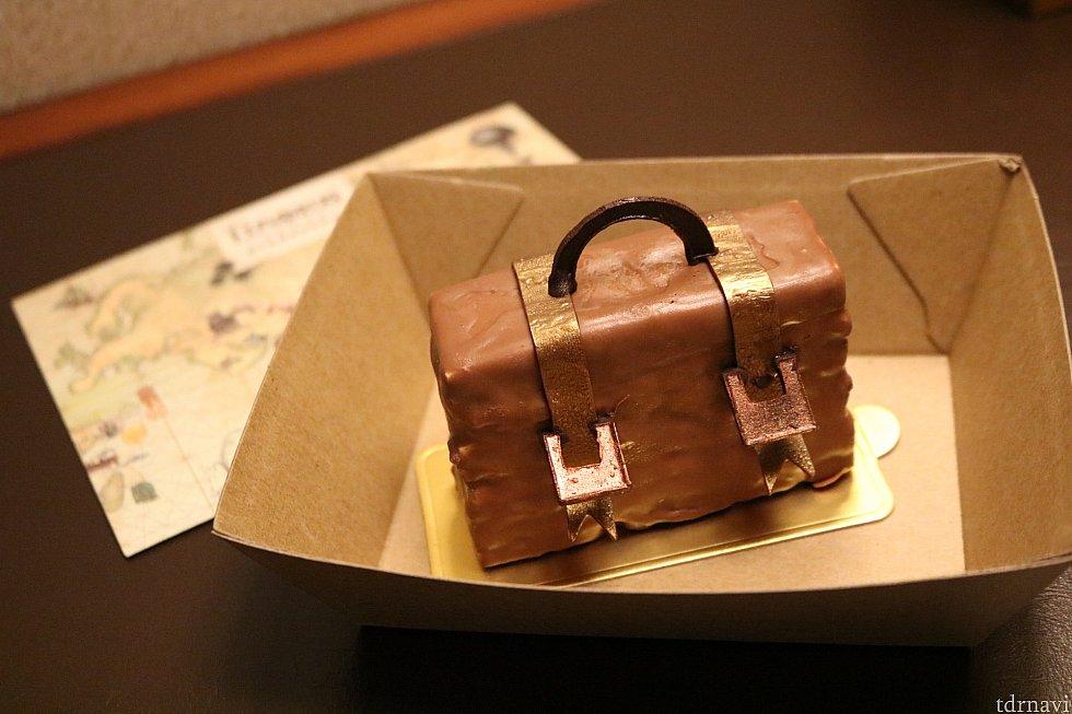 トランク型チョコレートケーキ