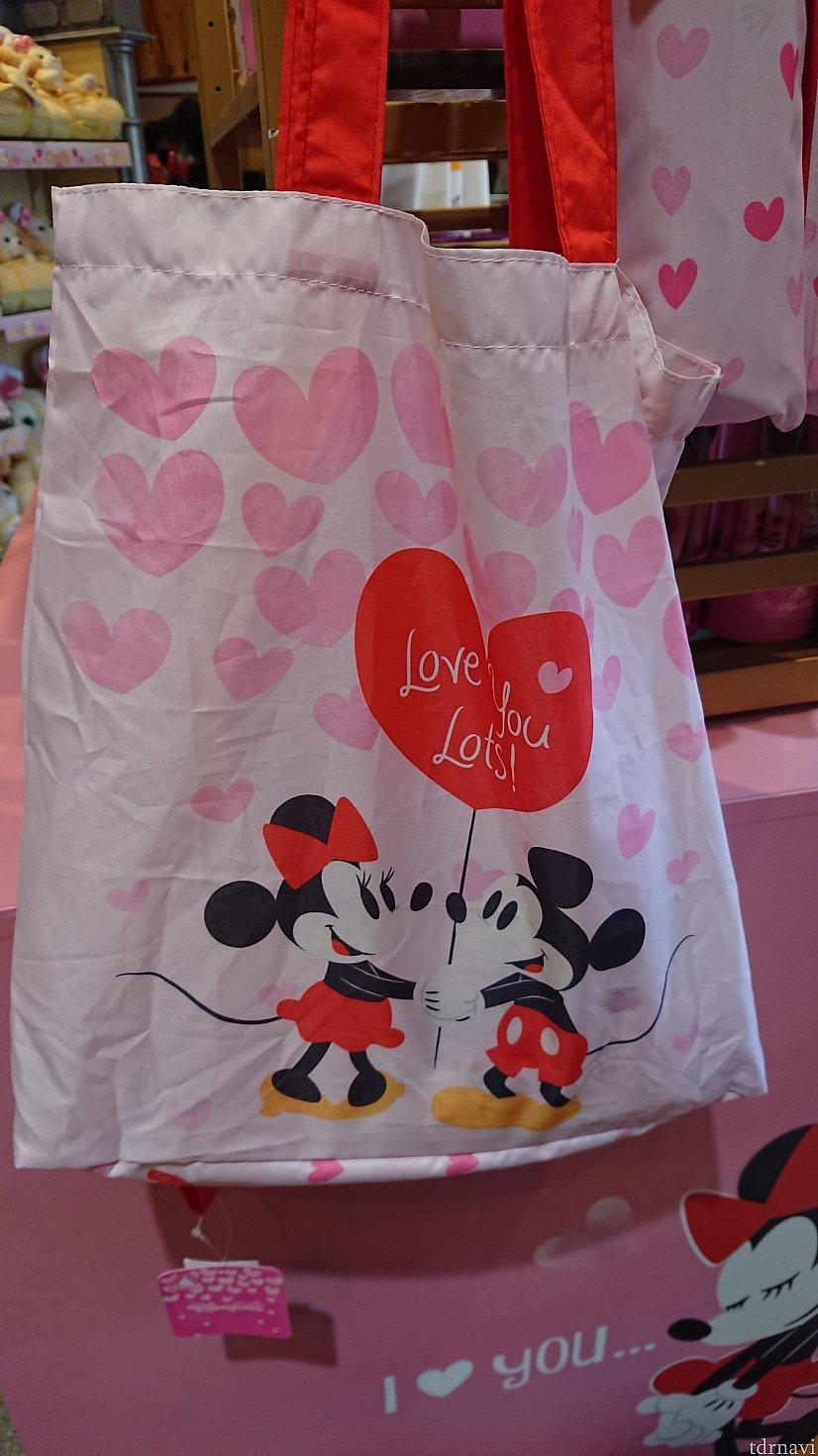 おりたためるバッグミッキーミニー☆198HKD
