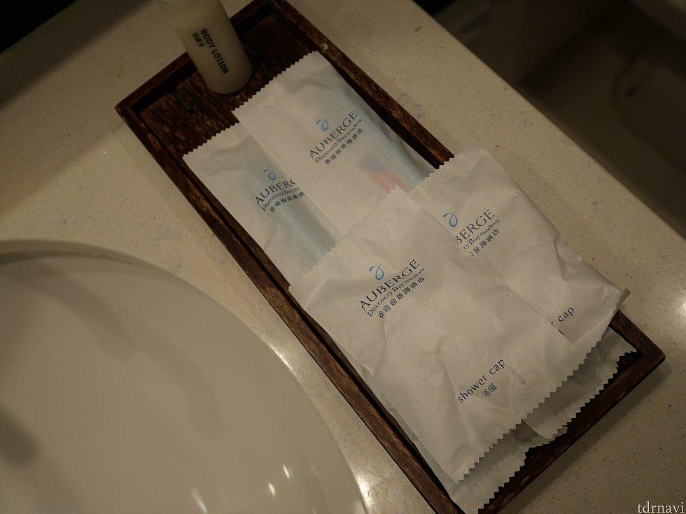 歯ブラシなど。