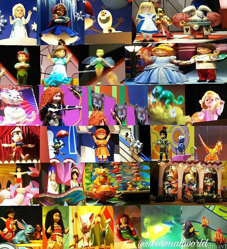 40以上のディズニーキャラクター一覧表