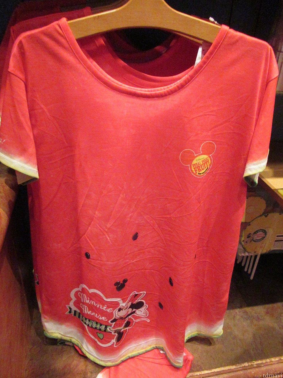 スイカミニーTシャツ 3900円 昨年と同じデザイン