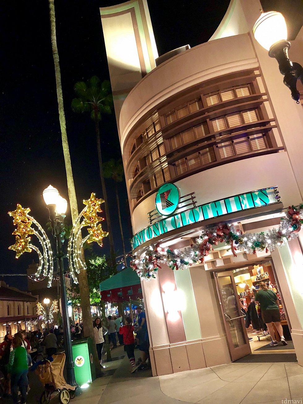 ハリウッドの夜景の街並みも本当に綺麗です。