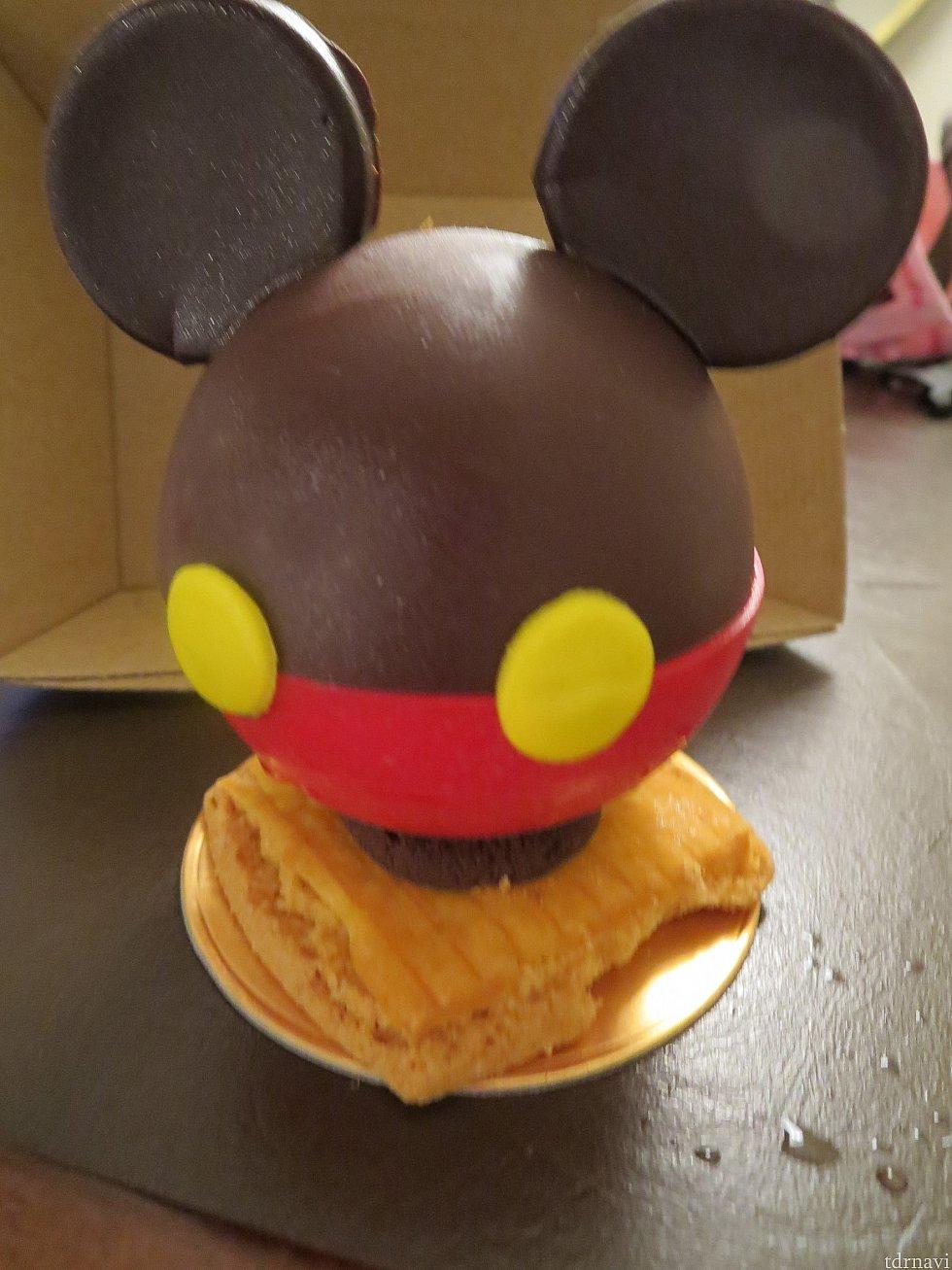 可愛らしいミッキーのケーキ