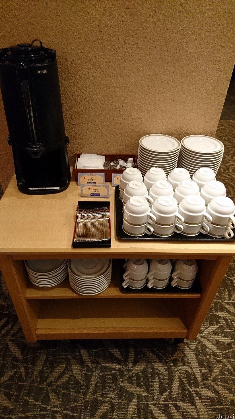 コーヒーはホテル共通のコーヒーとのことでした♪