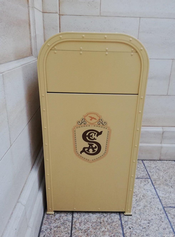 キューラインのトラッシュカンは「S.E.A.」デザイン