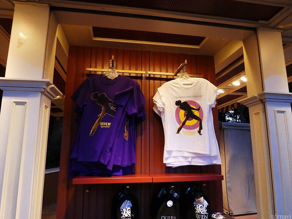 そしてもちろんQUEENも! このTシャツは外のワゴンのお店でも大々的に売られていました。