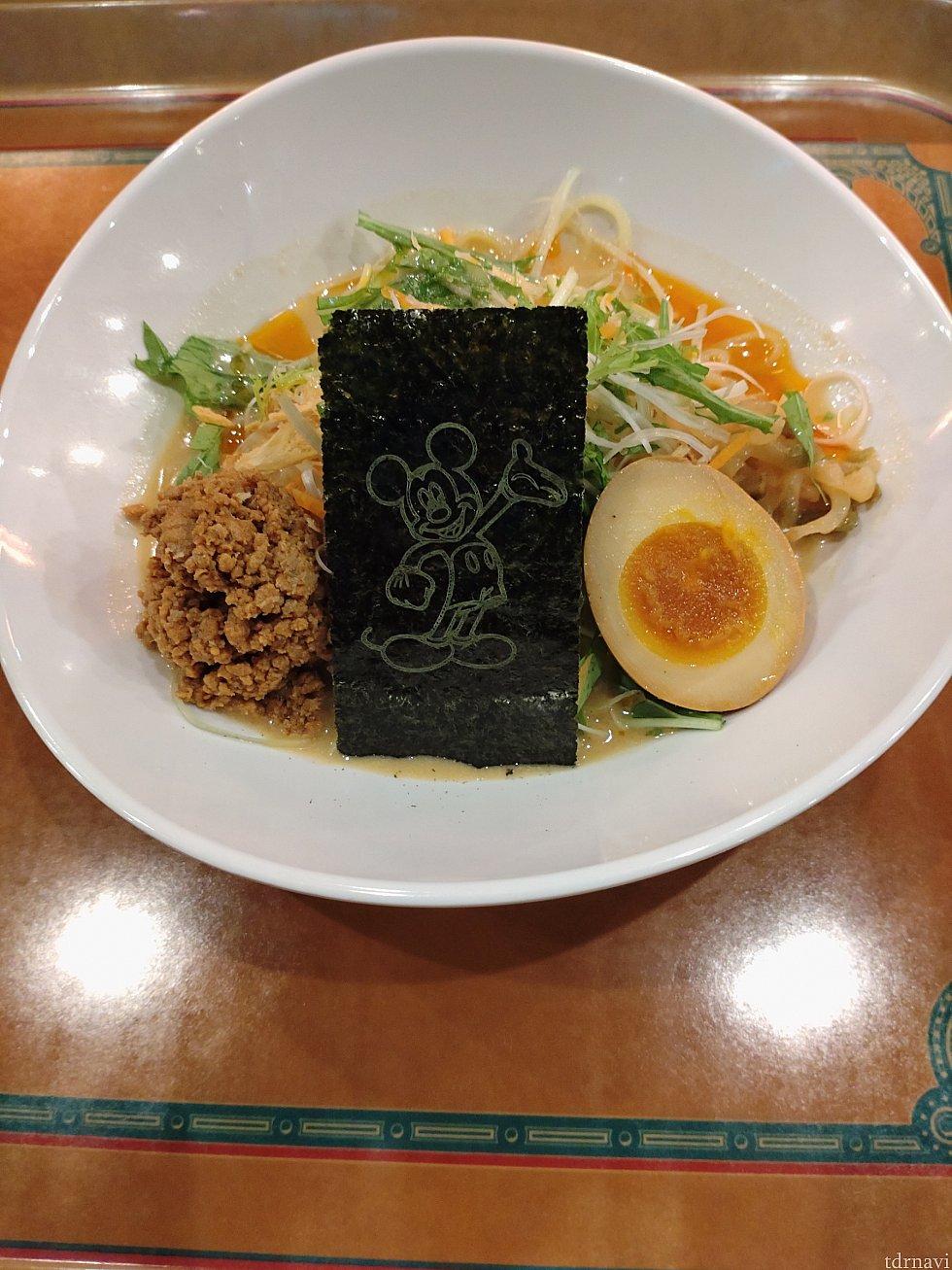 冷やし担担麺:1180円