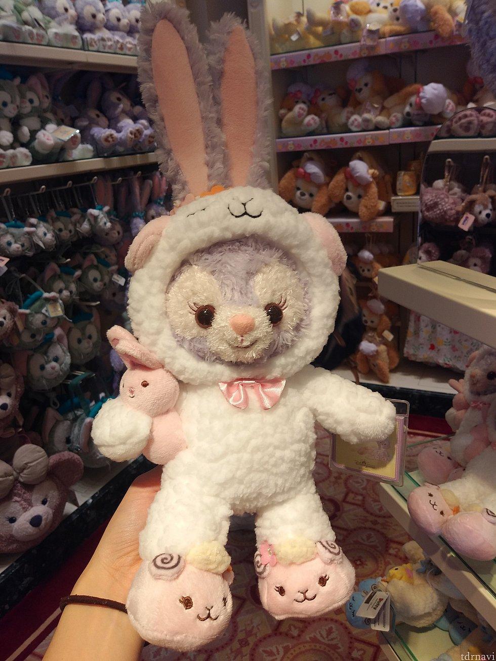 ルーちゃんも羊を着てます!ウサギ着てるように見えますが🤣ルーちゃんが特にかわいかったです❤️
