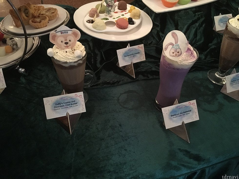 ステラ・ルードリンクは紫いもシェイク。結構お腹にたまる感じです