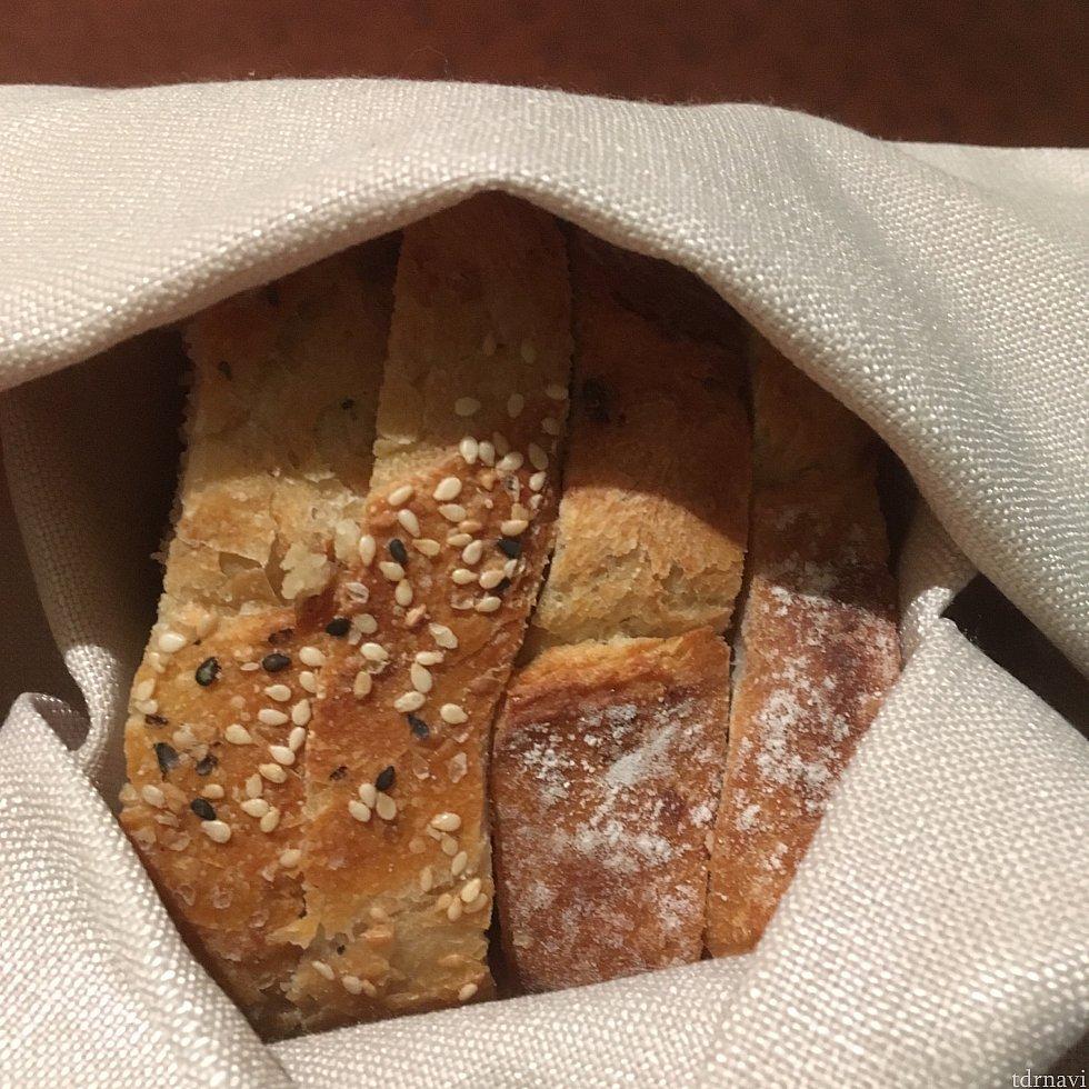 【パン】温かかったです。おいしかった!