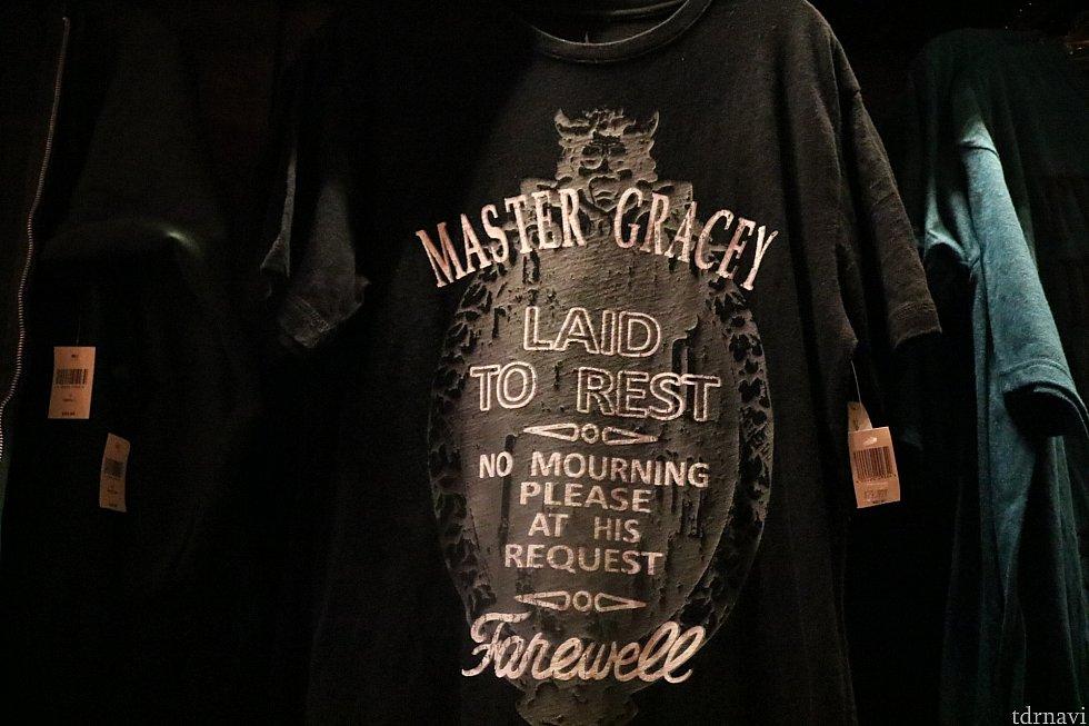有名な入り口のプレートデザインのTシャツ