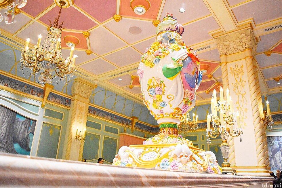 食事する部屋の装飾も可愛い