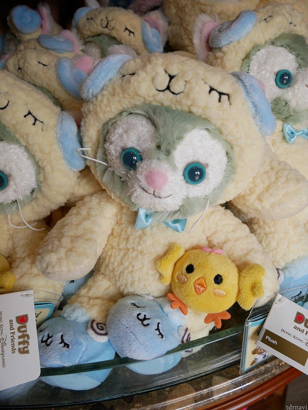 ジェラトーニには羊の着ぐるみ😁 イースターはちゃんとぬいぐるみが発売されて良かったです😍
