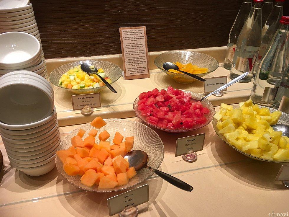 その代わりフルーツはどれも美味しかったですよ!