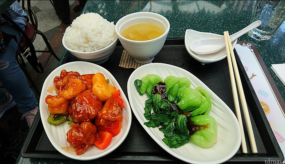 中式甜酸蝦雞球 198HKD (Chinese Sweet&Sour Prawn Chicken )
