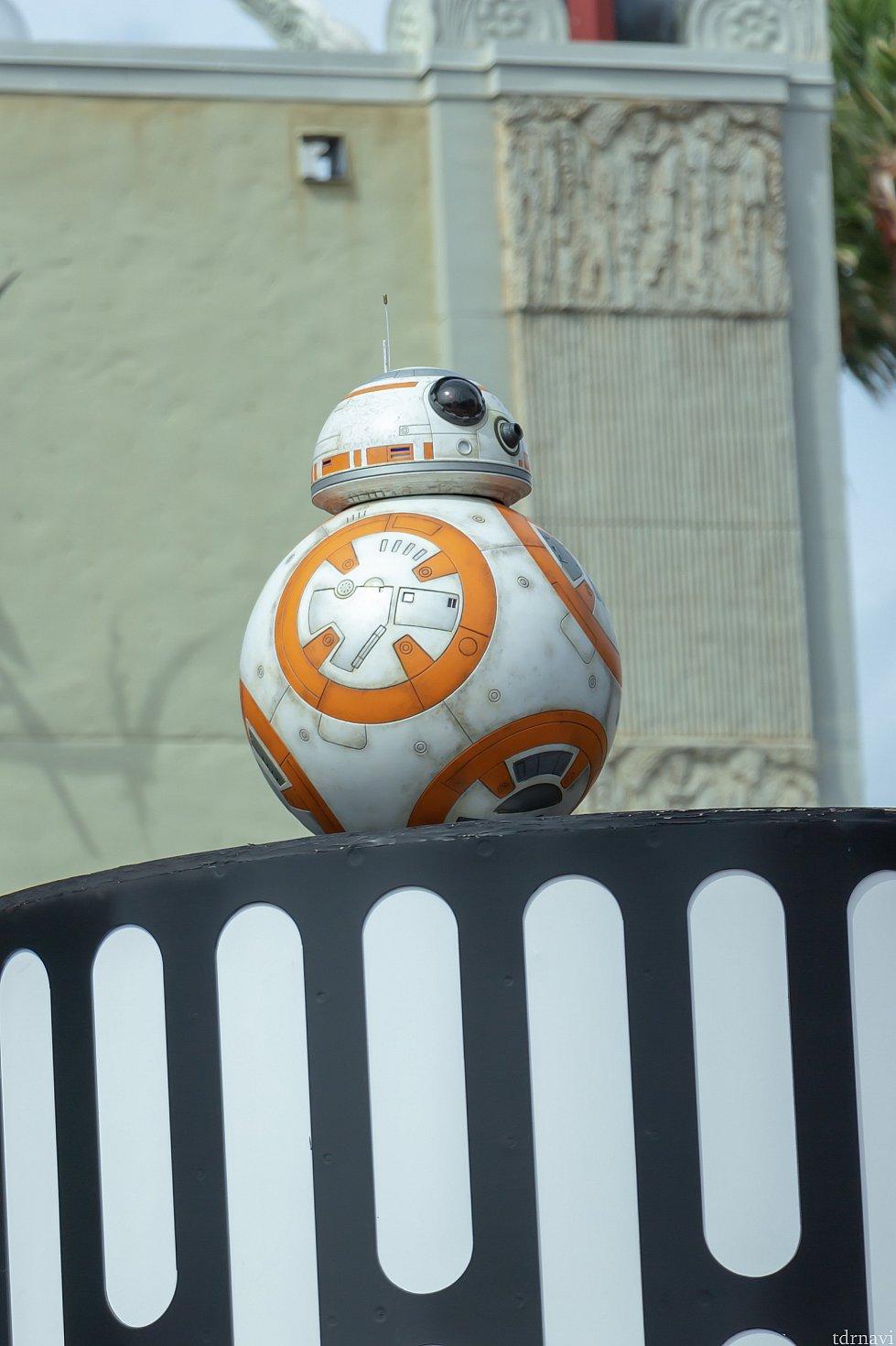 BB-8はほとんど動きません😂💦