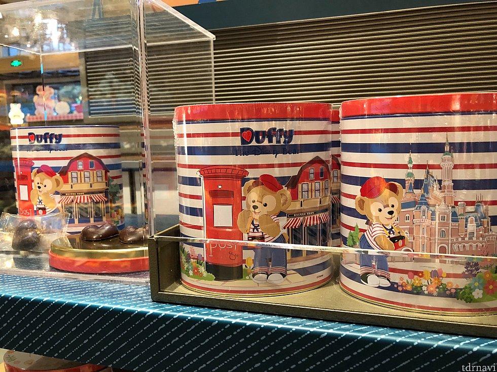 ダッフィーのチョコレート菓子はディズニータウンのショップにありました♡ 個装してあるのが嬉しい!