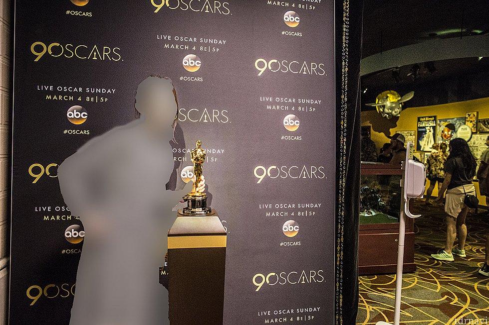オスカー像に触れました! キャストに本物か聞いたら本物だと言っていたので本物だと思います。