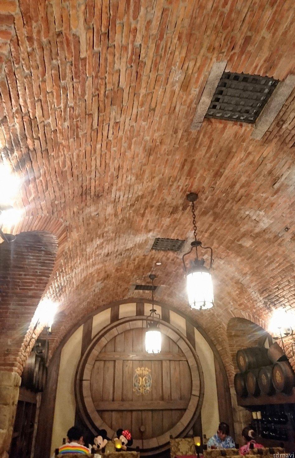 天井が素晴らしいです😍