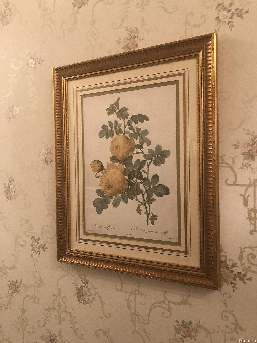 薔薇の絵画①