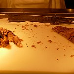 切り分けて貰うローストポークは大人気!いっぱい食べちゃいましょー♪