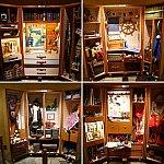 ロビーにはミッキー、ミニー、ドナルド、グーフィーのトランクが展示されています。小ネタが満載!ぜひ詳細はホテルで確認してください!