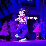 ミッキーのカッコイイタップダンス。