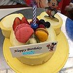 アメリカンチーズケーキのミッキーシェイプ!!!おいしすぎます!!♪♪♪