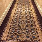 廊下の絨毯にも密かにミッキーシェイプ!やっぱりディズニーホテルですね♪