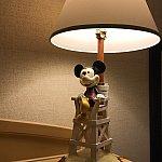 かわいいミッキーのランプ