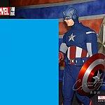フォトパス対応です。キャプテン・アメリカかっこよかったです!