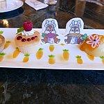 デザートプレートが超可愛いです!!!!